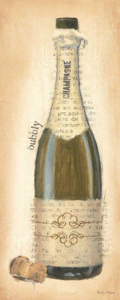Bubbly Champagne Bottle Adams, Emily 17304
