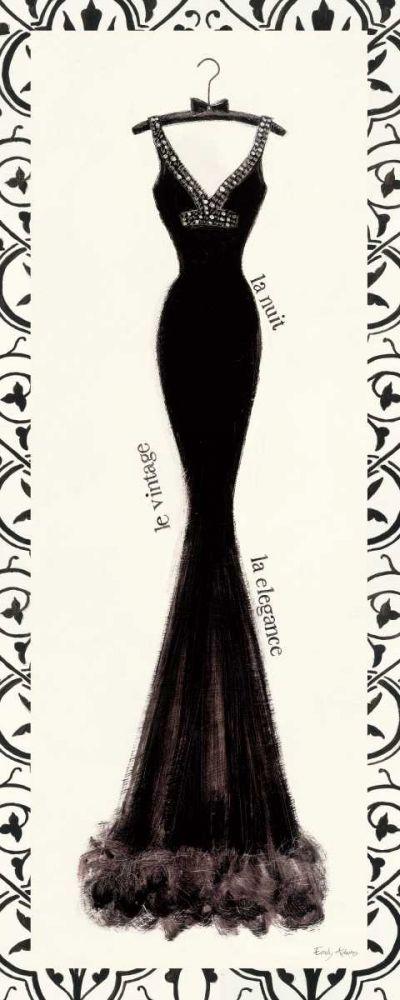 Couture Noir Original I with Border Adams, Emily 28025
