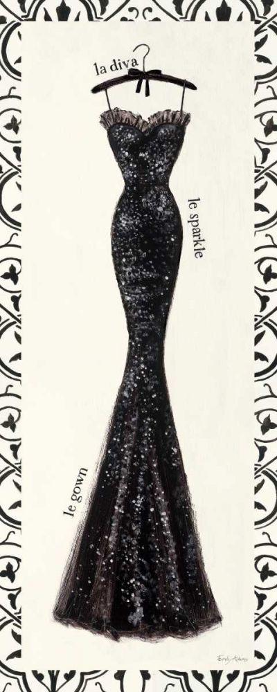 Couture Noir Original IV with Border Adams, Emily 28028