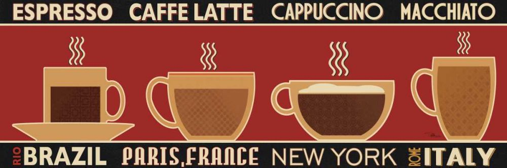 Deco Coffee Panel I Pela Studio 28094