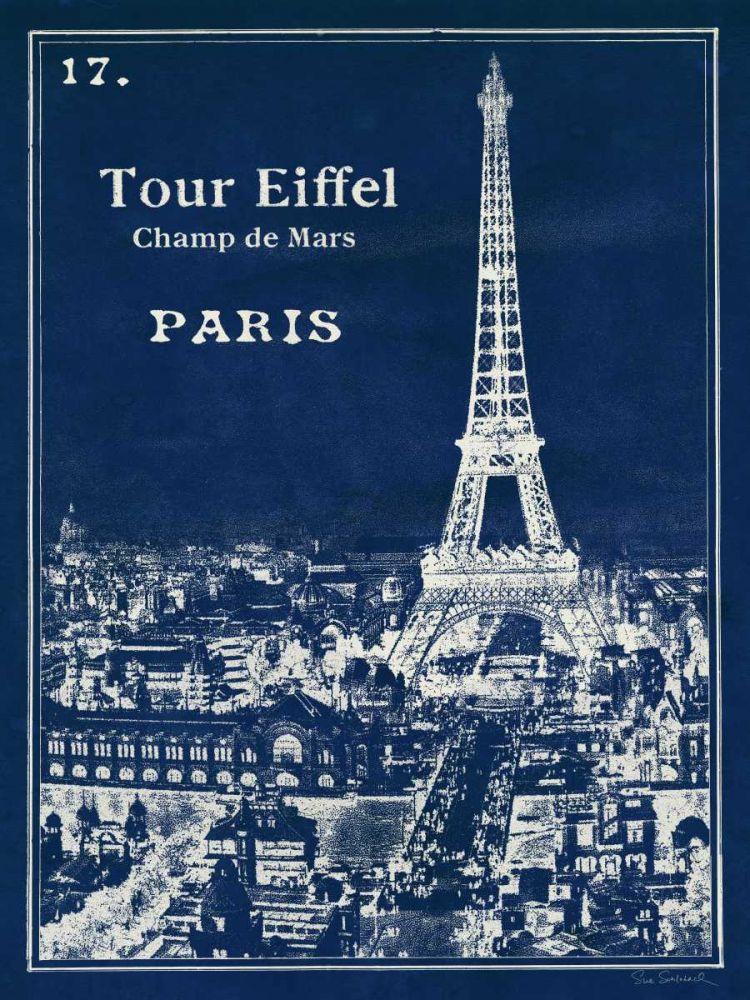 Blueprint Eiffel Tower Schlabach, Sue 28127