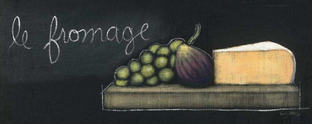 Chalkboard Menu III - Fromage Adams, Emily 17989