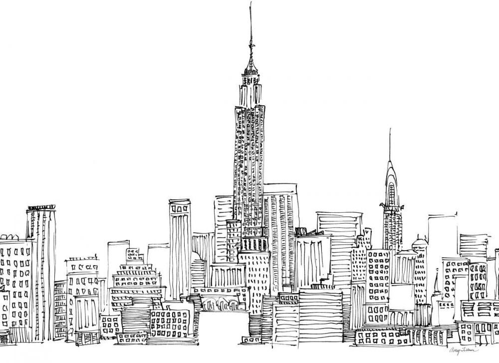 New York Skyline Crop Tillmon, Avery 28166