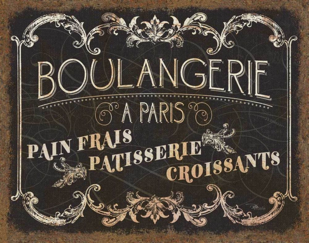 Parisian Signs Pela Studio 28356