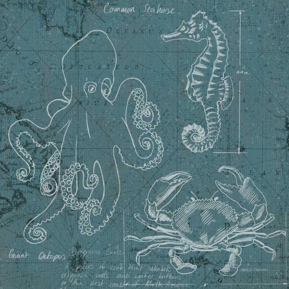 Coastal Blueprint II Fabiano, Marco 27940