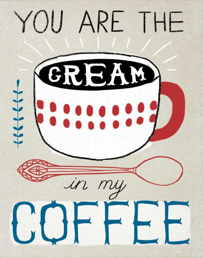 Cream in Coffee Towne, Oliver 73815