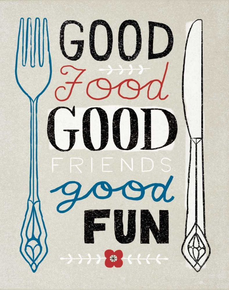 Good Food Friends Fun Towne, Oliver 73819