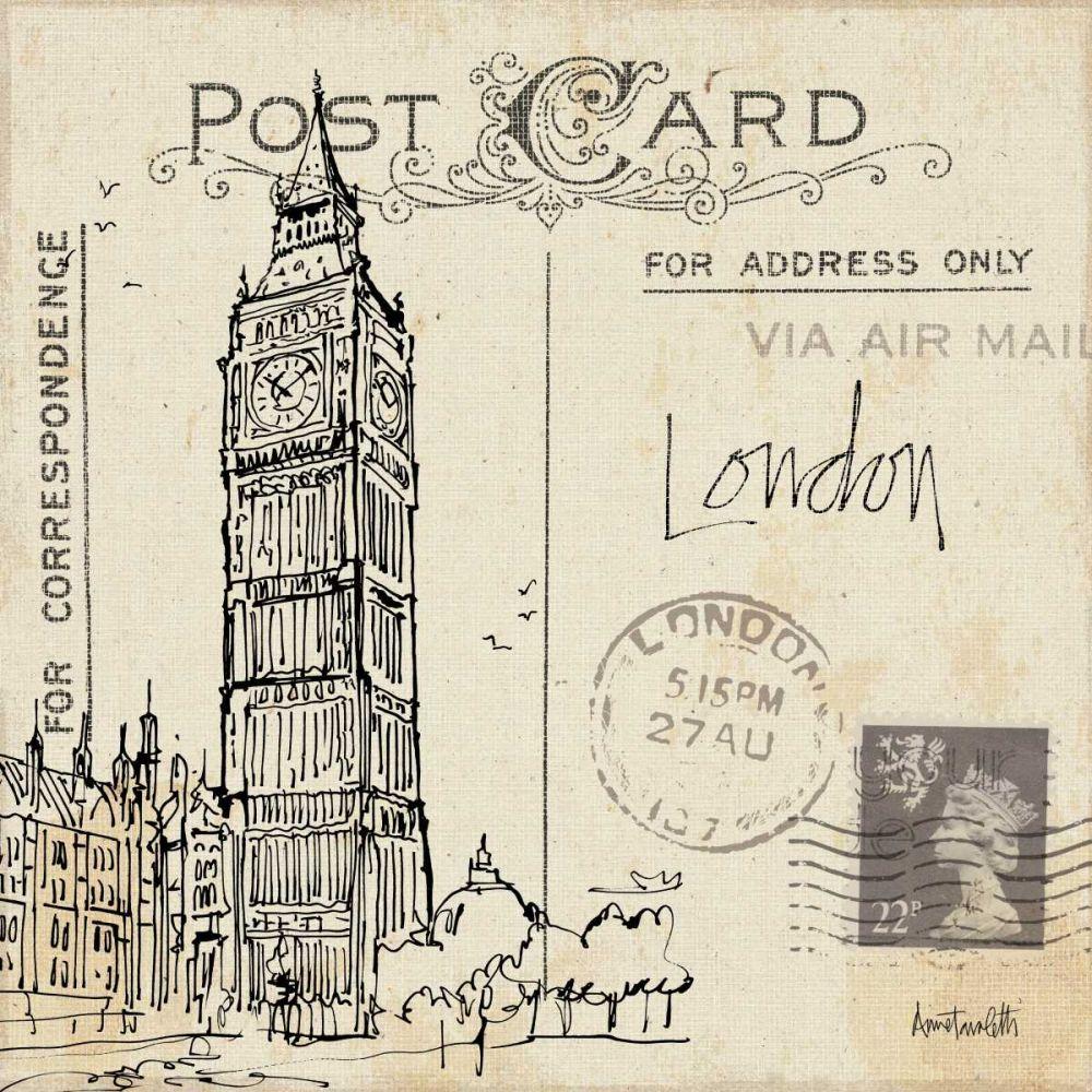 Postcard Sketches II Tavoletti, Anne 36062
