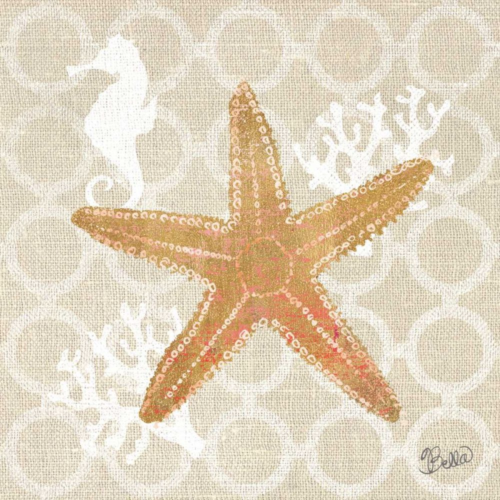 Beach Linen Starfish Studio Bella 73865