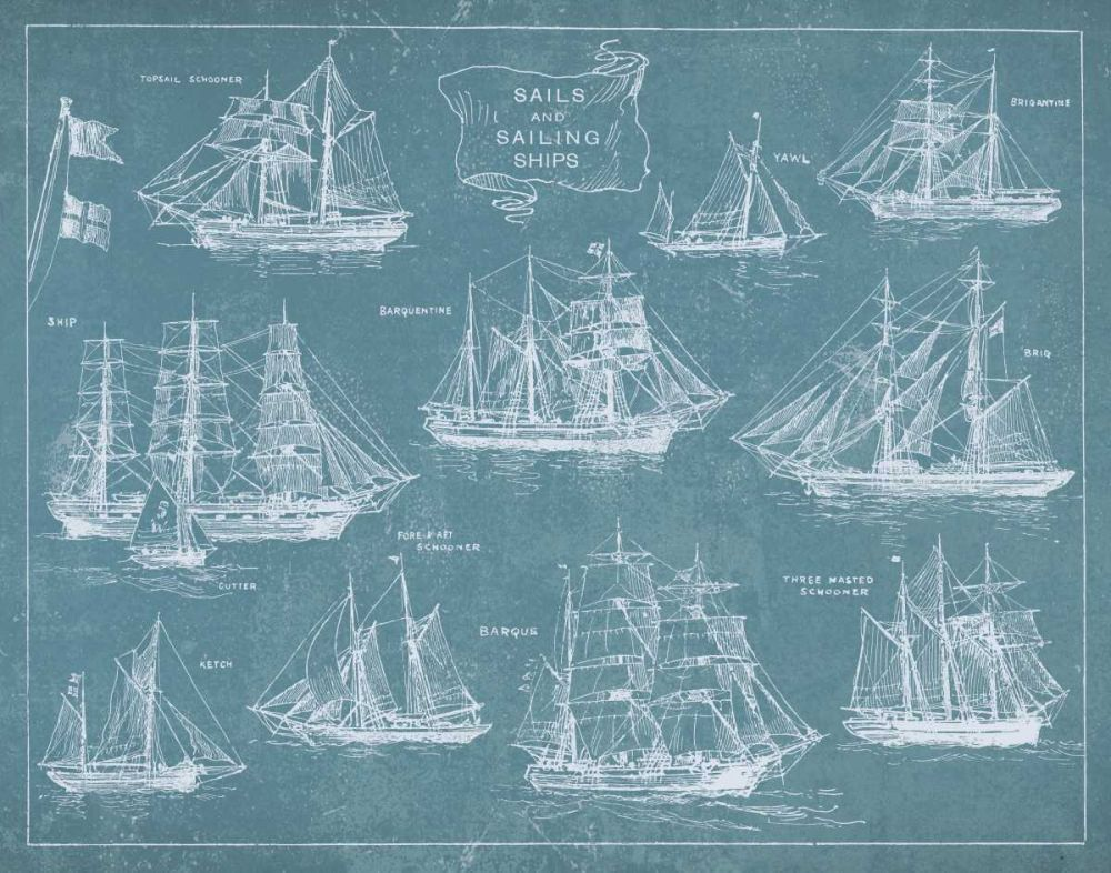 Sailing Ships Wild Apple Portfolio 41144