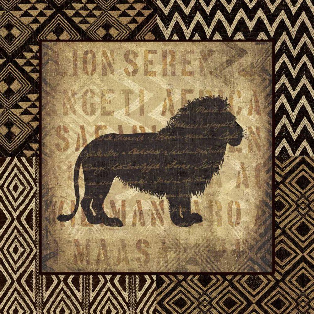 African Wild Lion Border Wild Apple Portfolio 41155