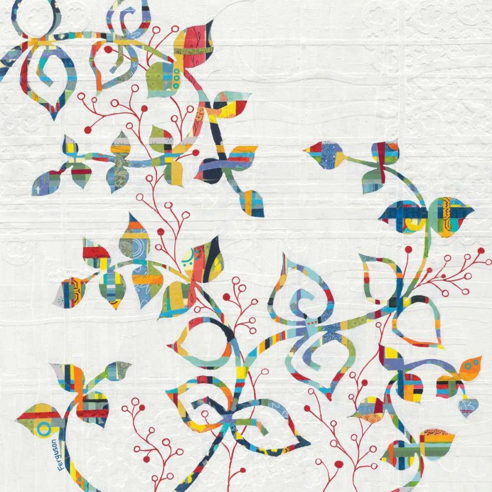 Rainbow Vines with Berries Ferguson, Kathy 48069