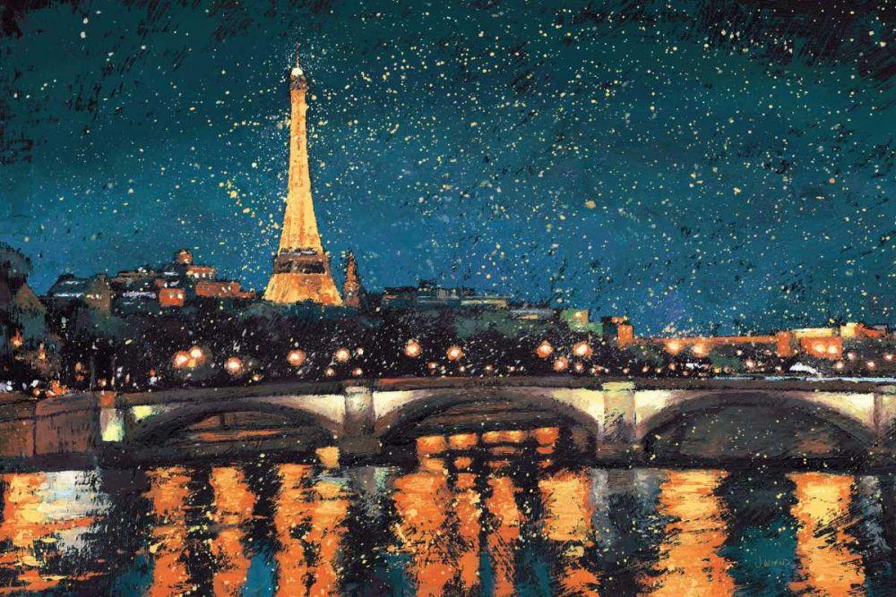 Paris Nights Blue I Wiens, James 57558