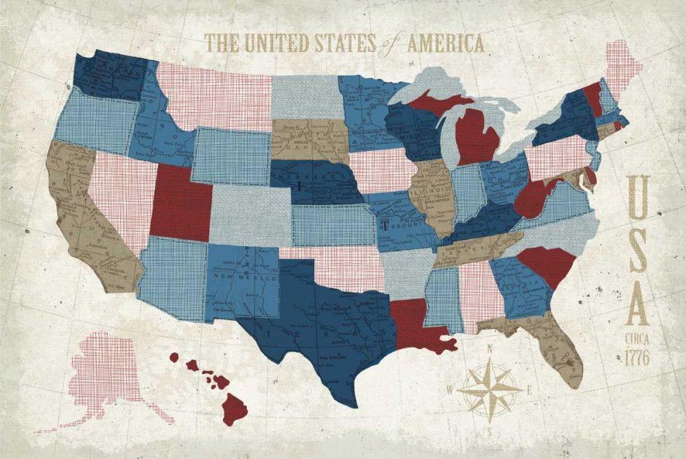USA Modern Vintage Blue Mullan, Michael 118995