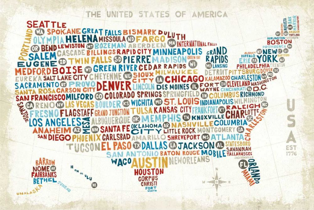 US City Map Mullan, Michael 73795