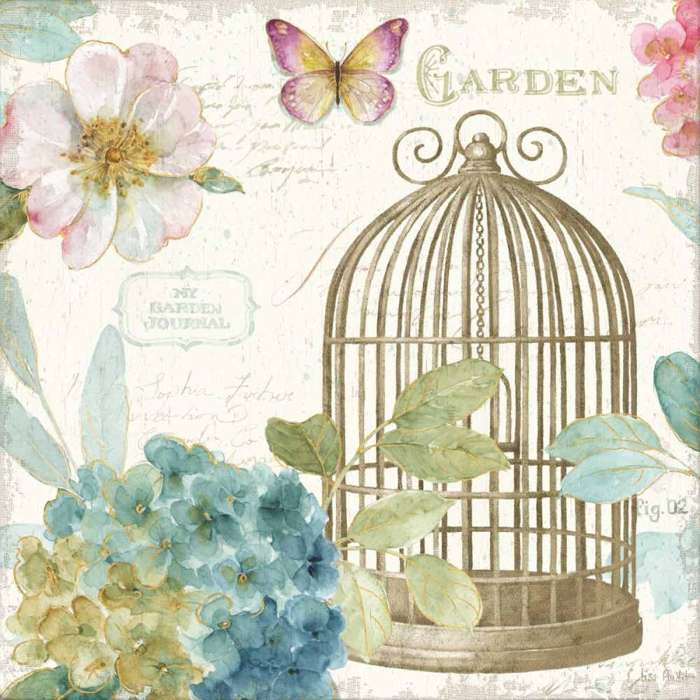 Rainbow Seeds Floral Birdcage III v2 Lisa, Audit 93229