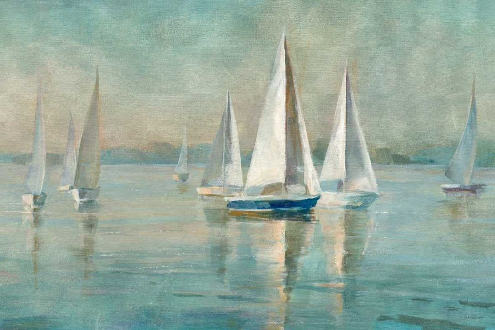 Sailboats at Sunrise Nai, Danhui 73376