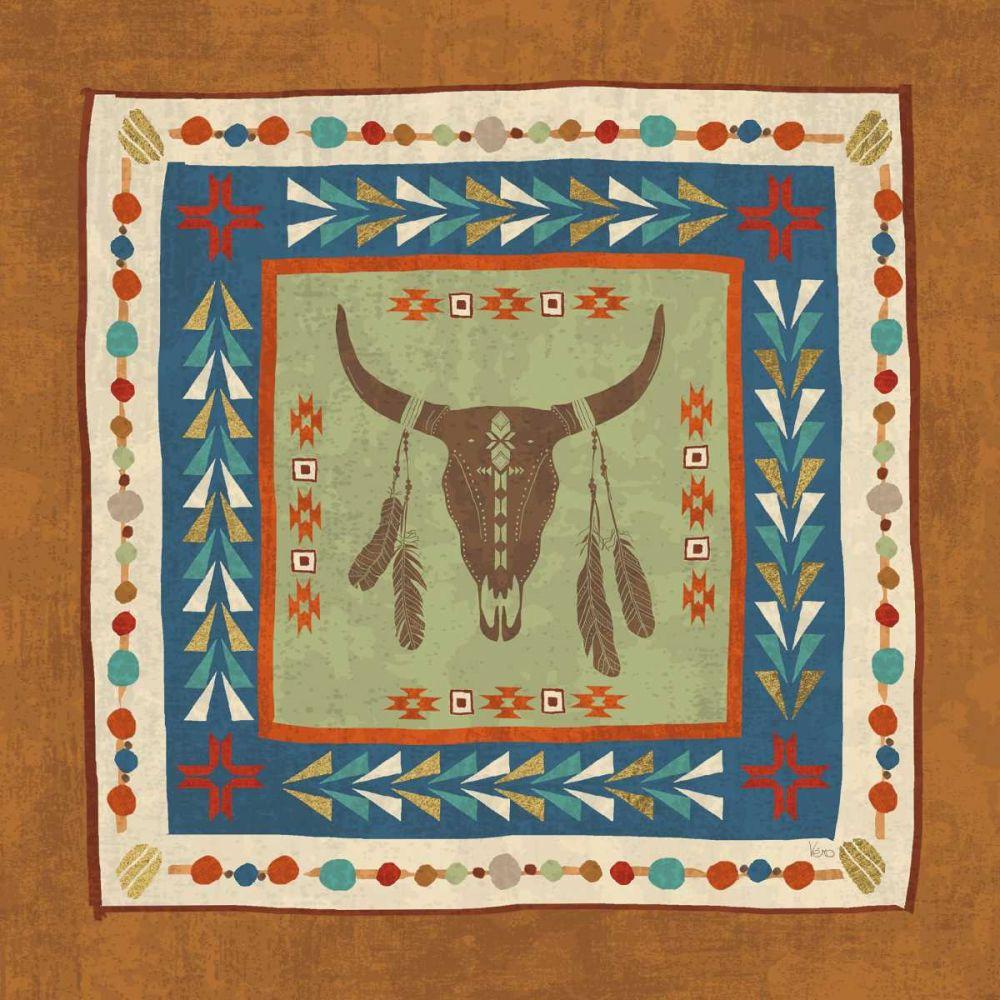 Southwest at Heart Tile IV Charron, Veronique 73604