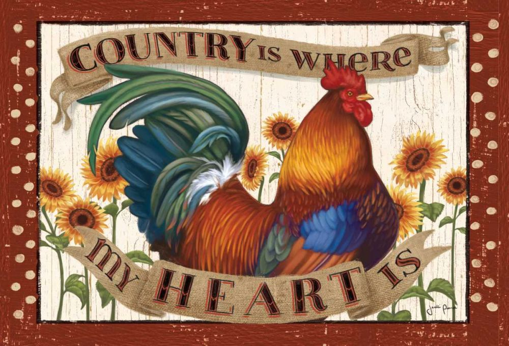 Country Heart I Dots Penner, Janelle 73761