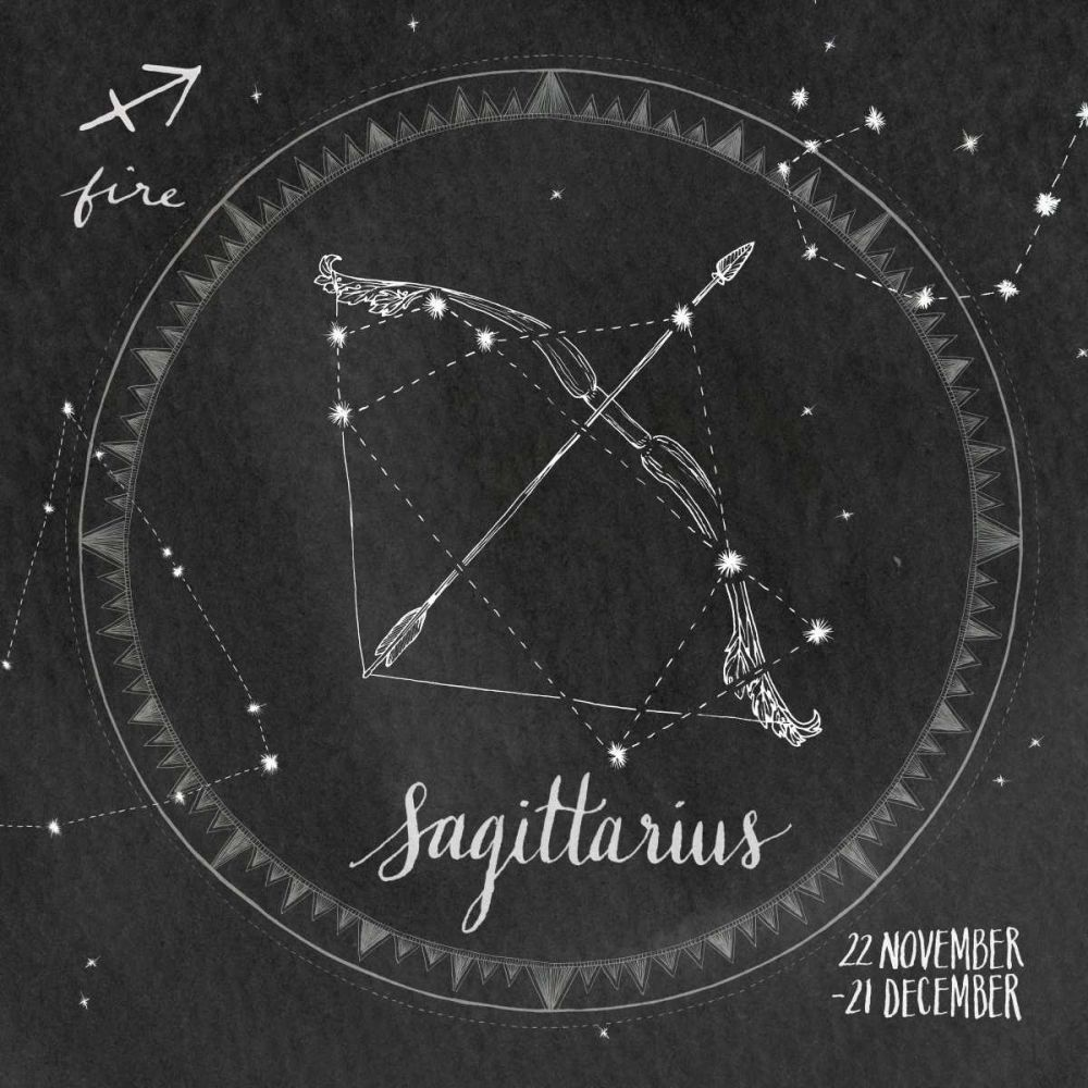 Night Sky Sagittarius Miller, Sara Zieve 77845