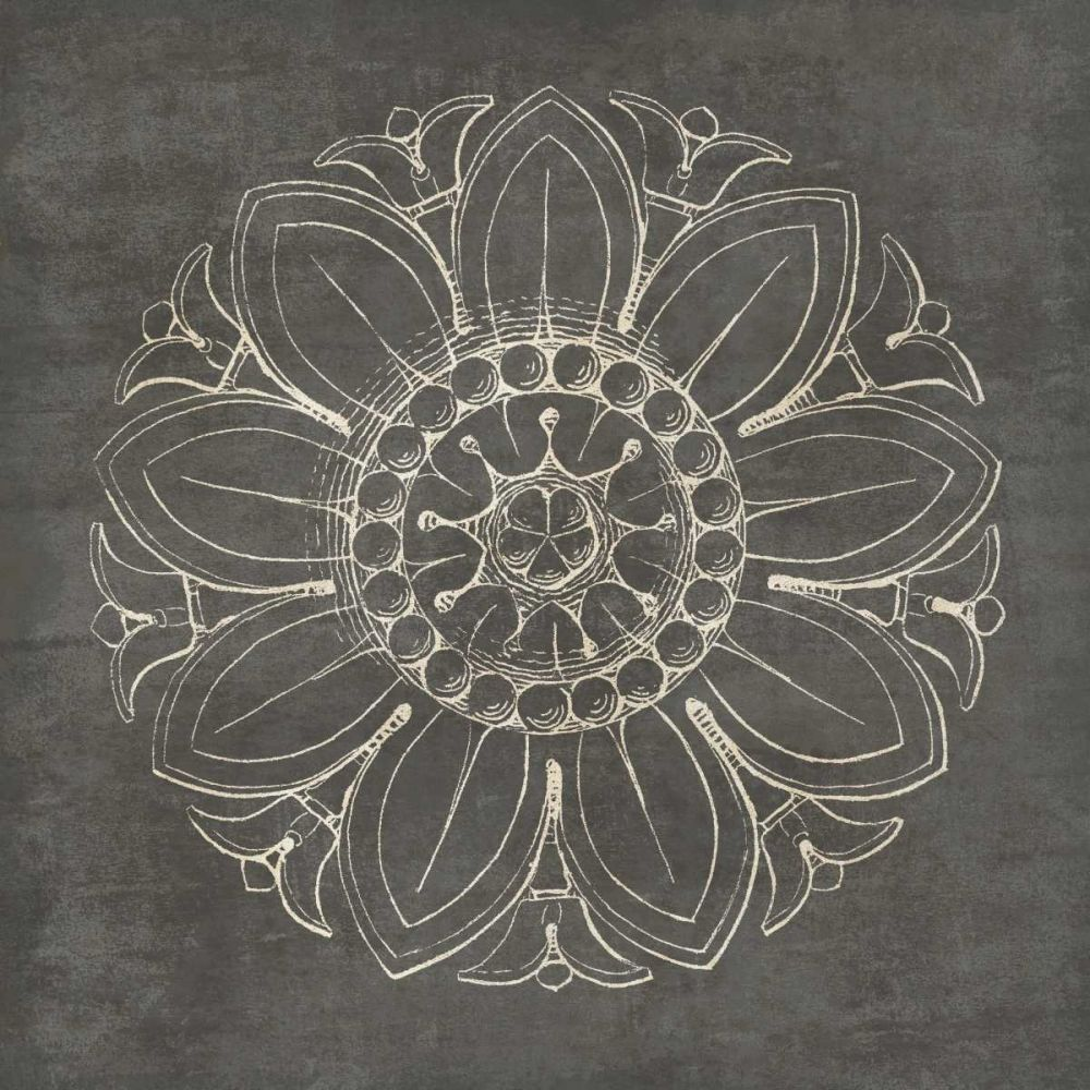 Rosette VII Gray Wild Apple Portfolio 77902