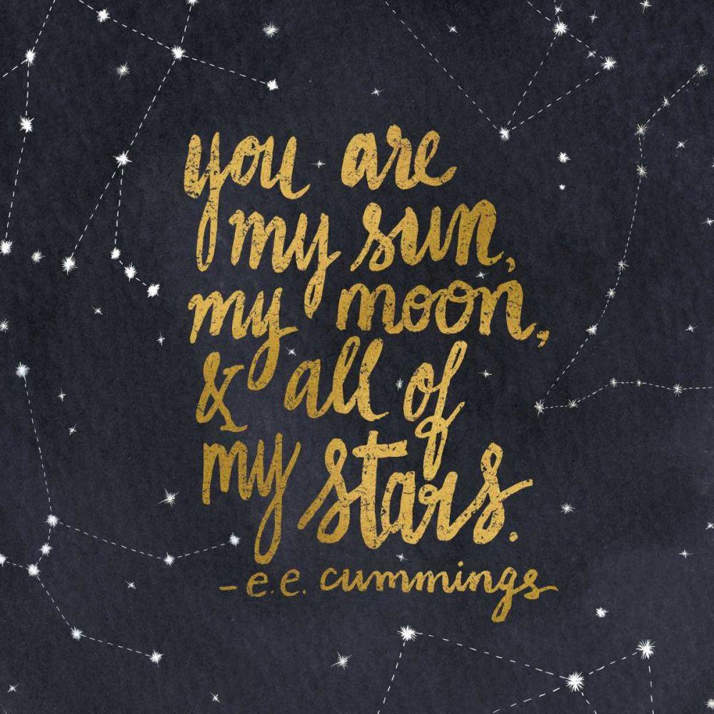 Starry Words III Gold Miller, Sara Zieve 77927