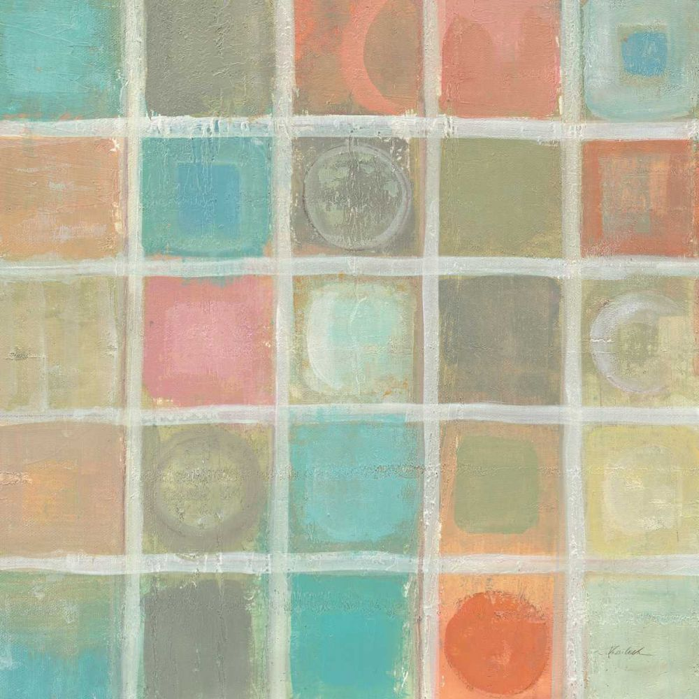 Sea Glass Mosaic Tile III Vassileva, Silvia 78274