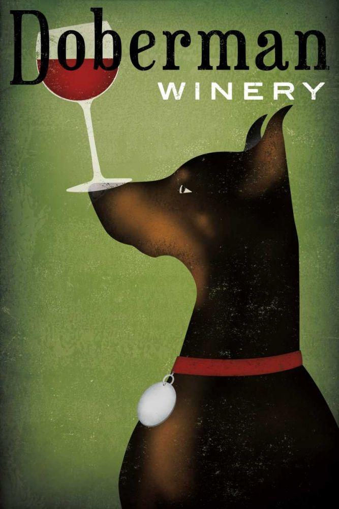 Single Doberman Winery Fowler, Ryan 153215
