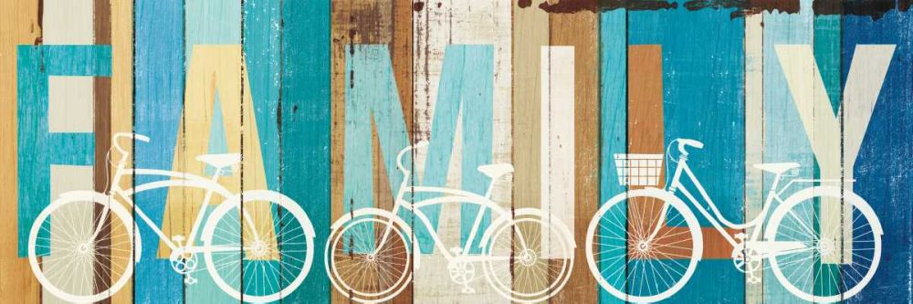 Beachscape Bicycle Family Mullan, Michael 151379