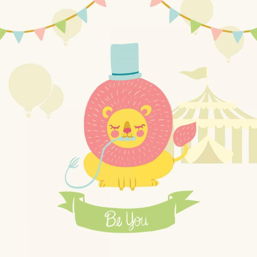 Little Circus Lion Pastel Hilsaca, Cleonique 99469
