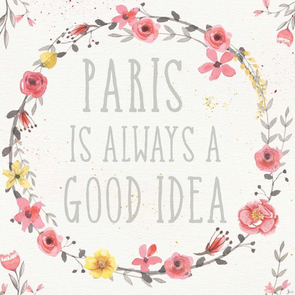 Paris Blooms IV Aiken, Jess 99495