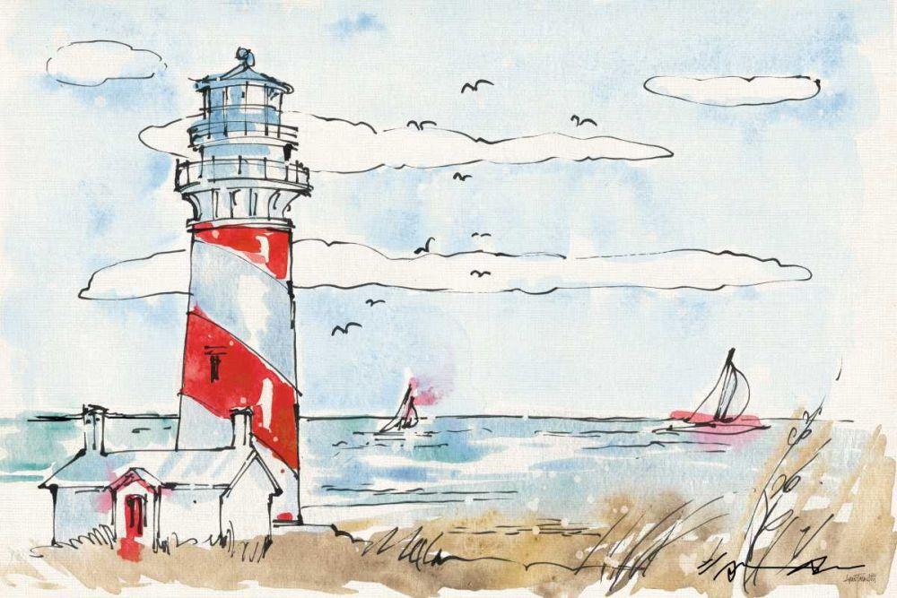 Coastal Life I Tavoletti, Anne 129477