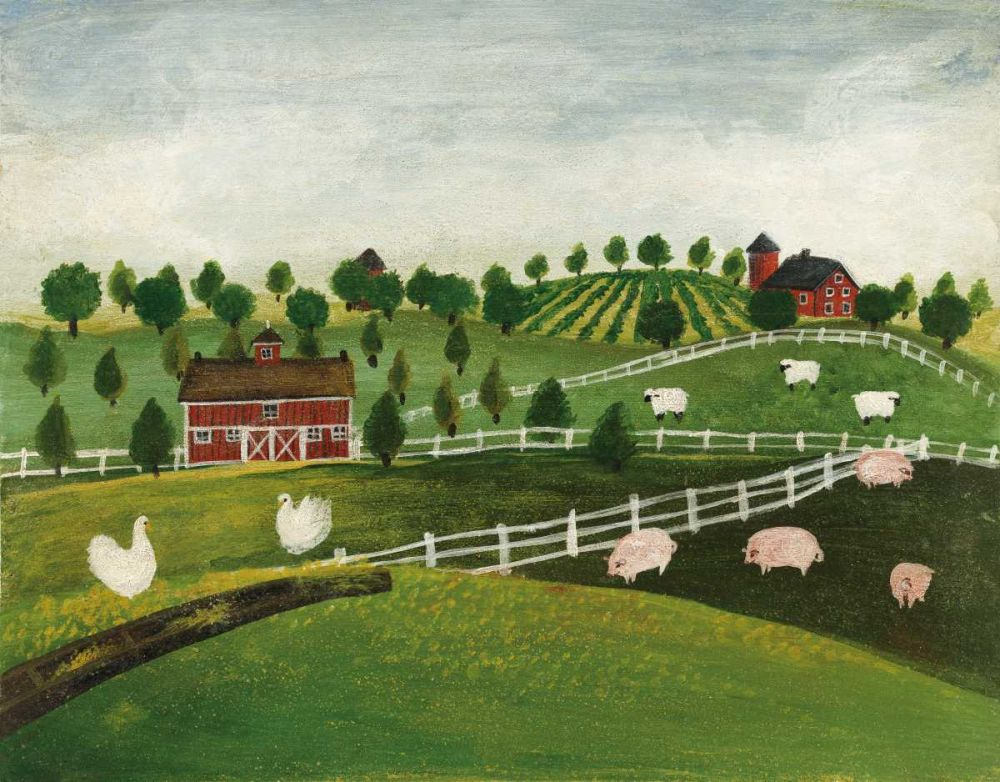 A Day at the Farm I Bright Brown, David Carter 149989