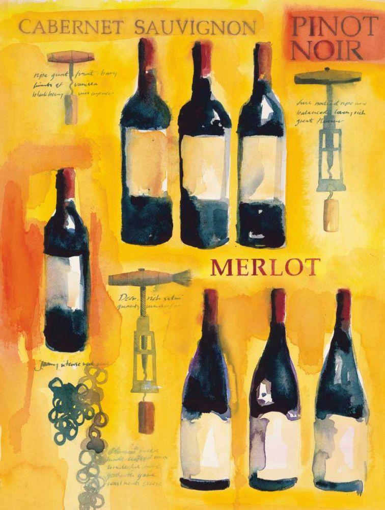 Red Wine Collage Clark, Michael 137595