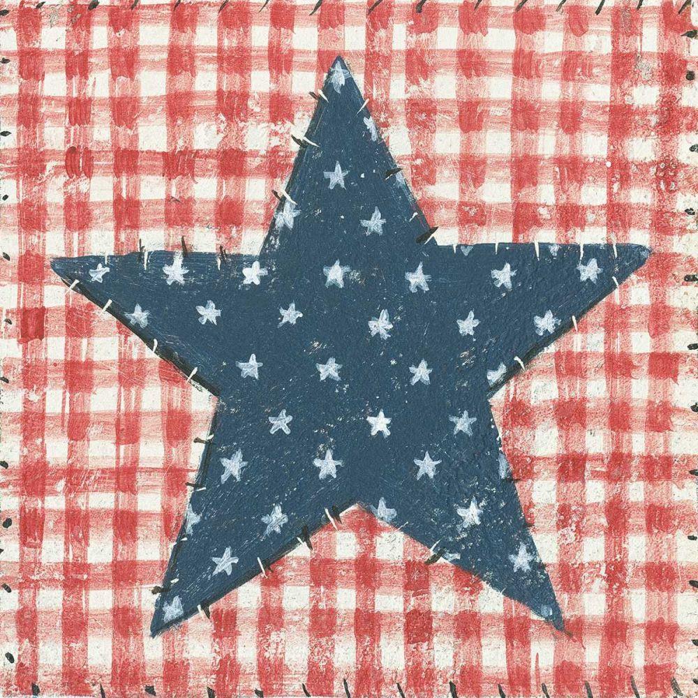 Americana Quilt II Brown, David Carter 137607