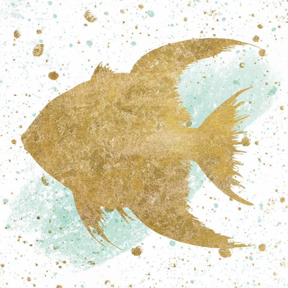 Silver Sea Life Aqua Fish Wild Apple Portfolio 157818