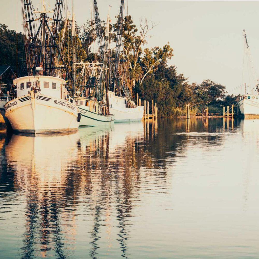 Sepia Shrimp Boats Brookview Studio 158871