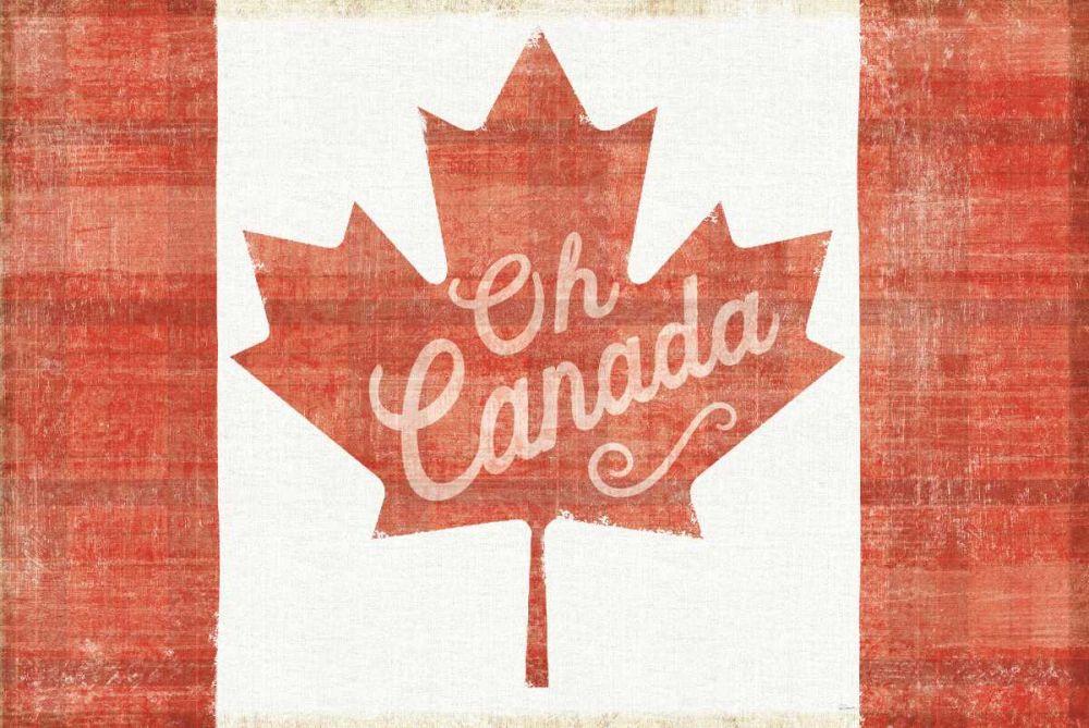 Oh Canada Flag Schlabach, Sue 158740
