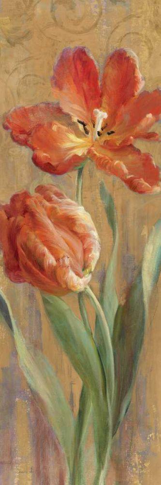 Parrot Tulips on Gold II Nai, Danhui 19012