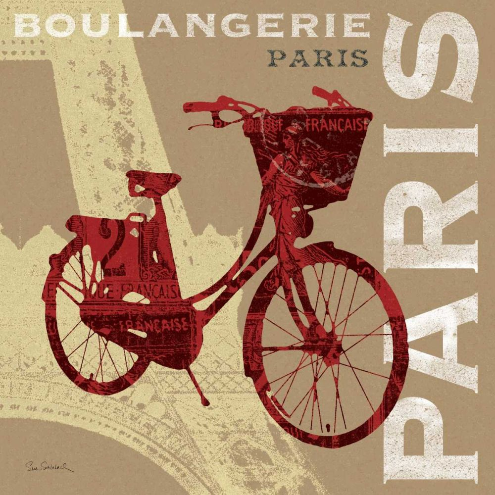 Cycling in Paris Schlabach, Sue 18163