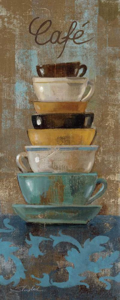 Antique Coffee Cups I Vassileva, Silvia 19083