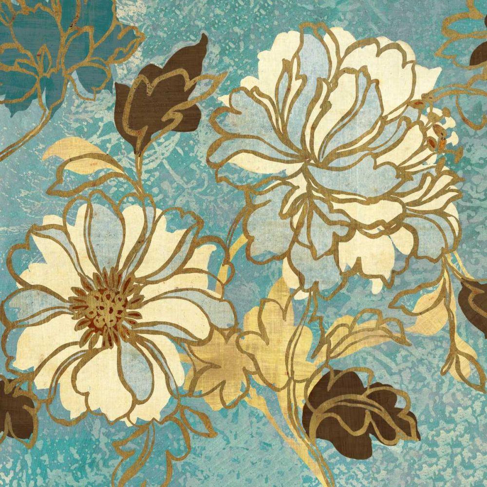 Sophias Flowers I - Blue Wild Apple Portfolio 18264