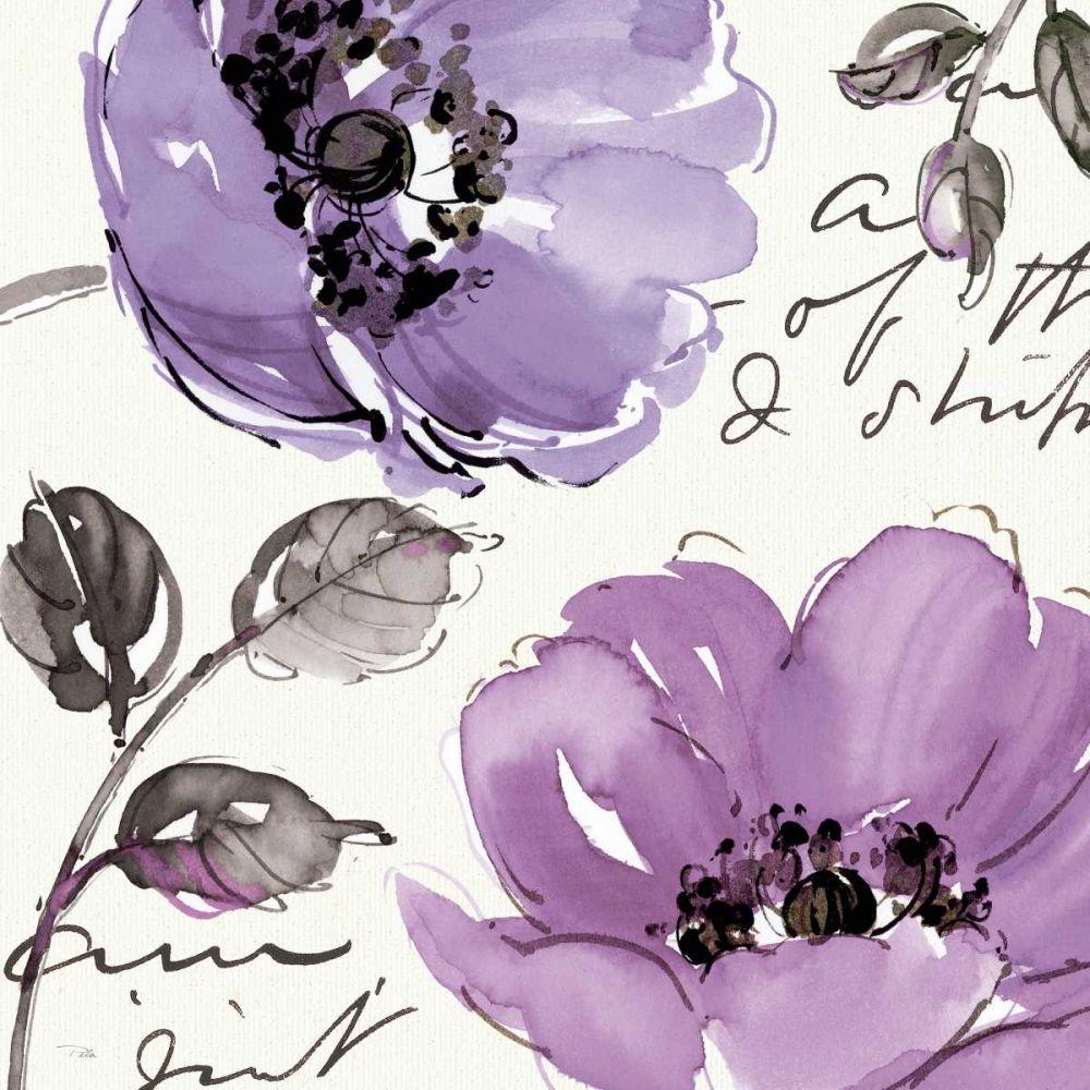 Floral Waltz Plum II Pela Studio 17253