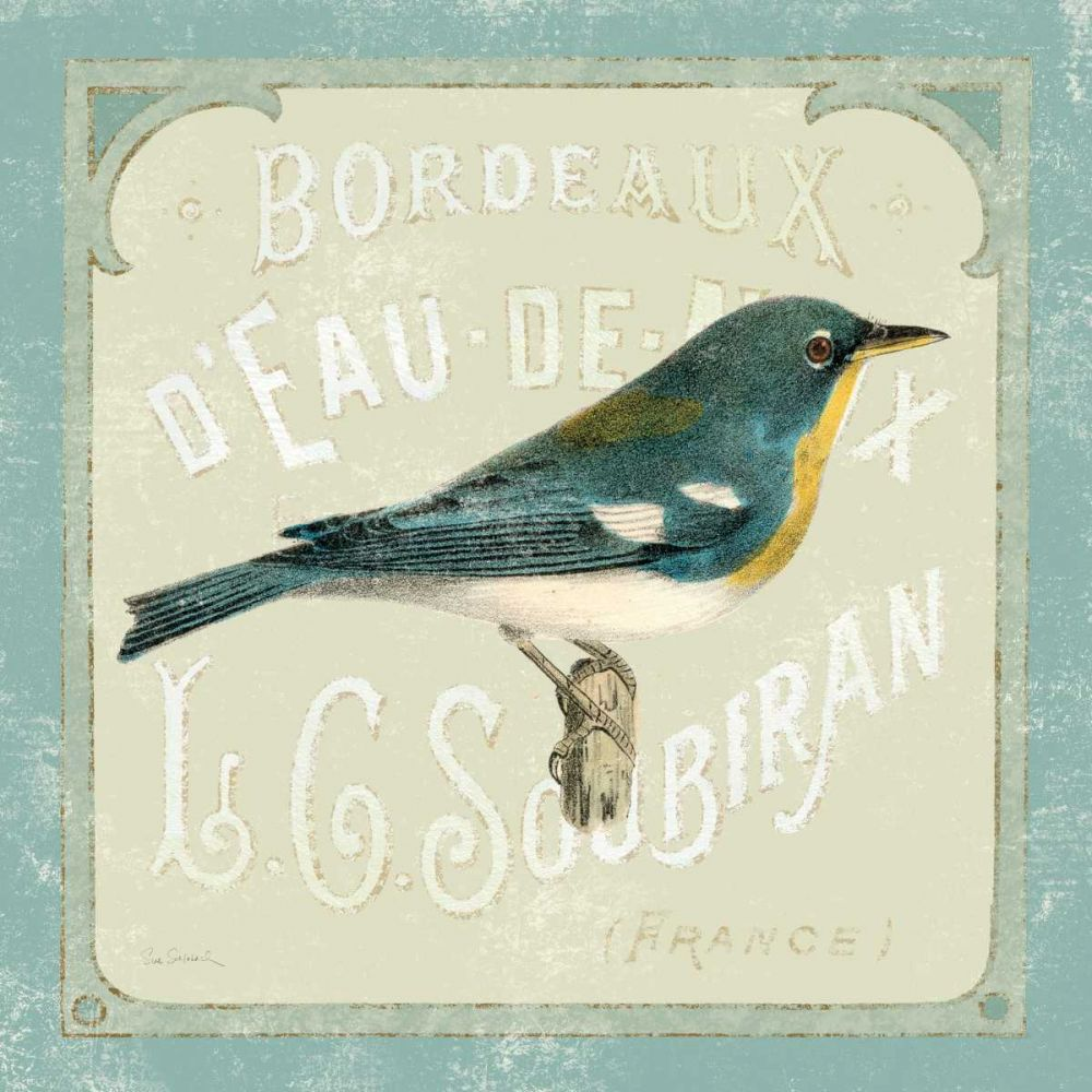 Parisian Bird I Schlabach, Sue 17839