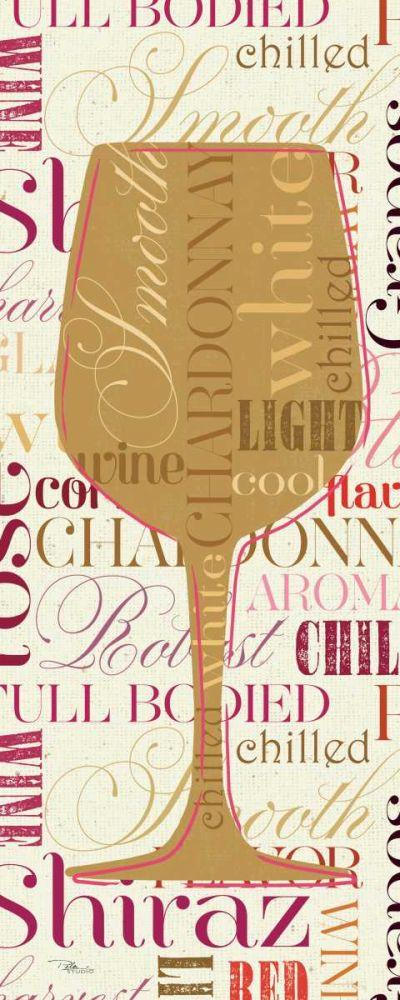 Colorful Wine Sayings - Chardonnay Pela Studio 34142