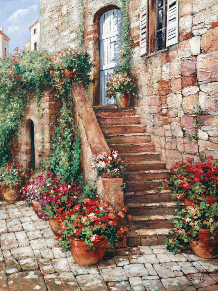 Stone Stairway, Perugia Duvall, Roger 118256
