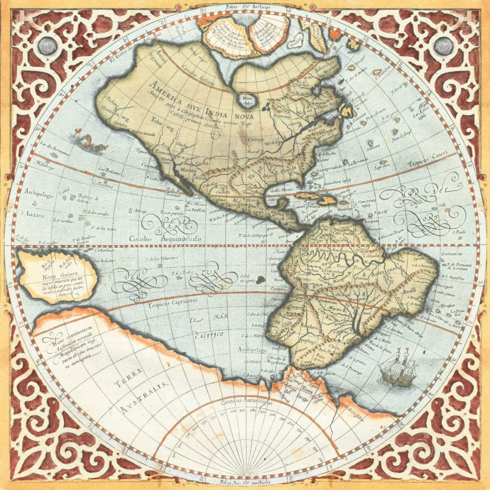 Terra Major Petites A Mercator, Gerardus 20614