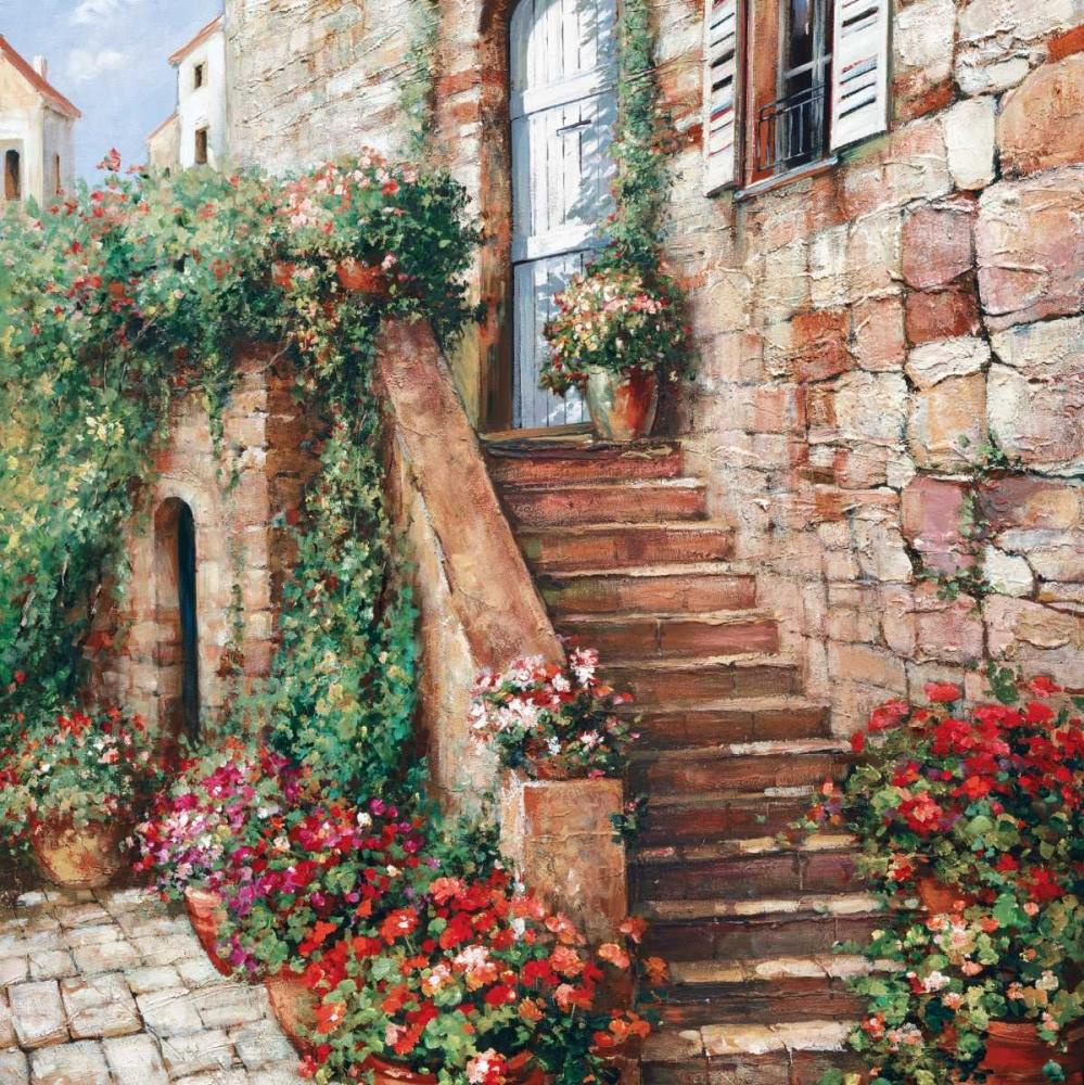 Stone Stairway Petites B Duvall, Roger 20623