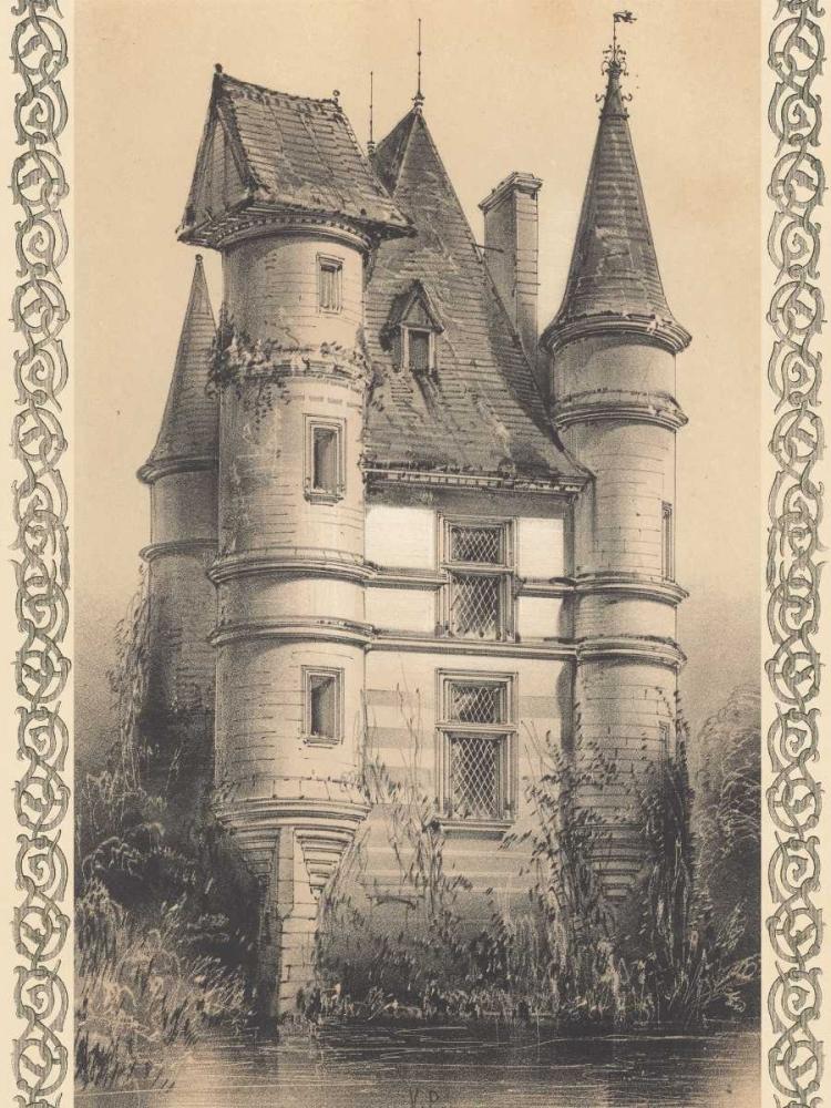 Bordeaux Chateau I Fermin Cassas, Louis 20628