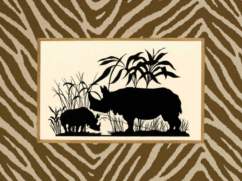Serengeti Silhouette II Chilton, Sarah E 20652